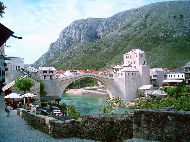 Starý most v Mostaru